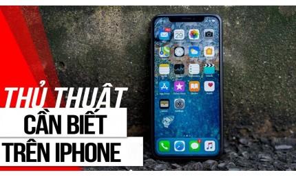 Những thủ thuật iphone chỉ người chuyên nghiệp mới biết